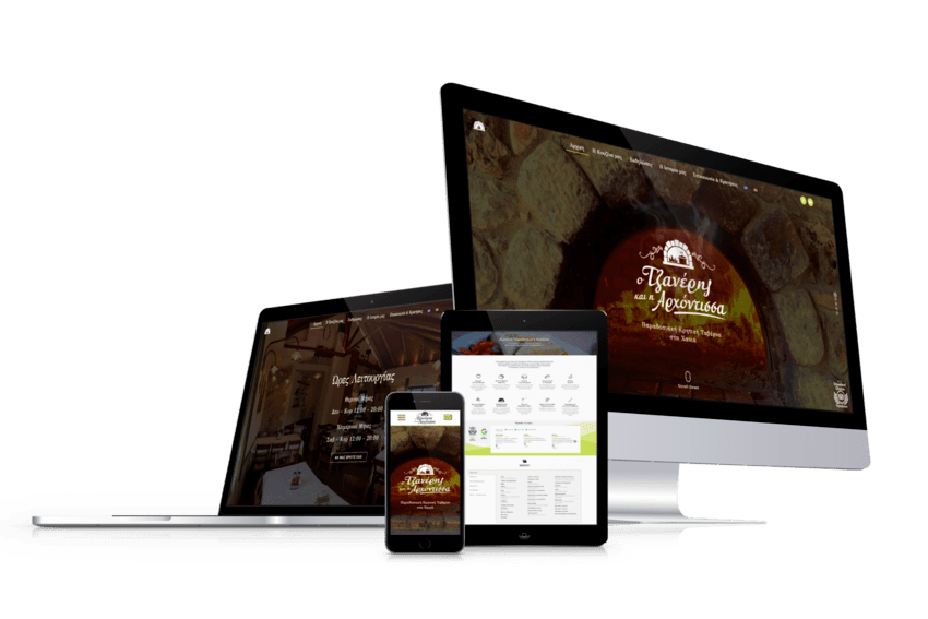 ennovate digital agency - ο τζανέρης και η αρχόντισσα website devices screenshot 01