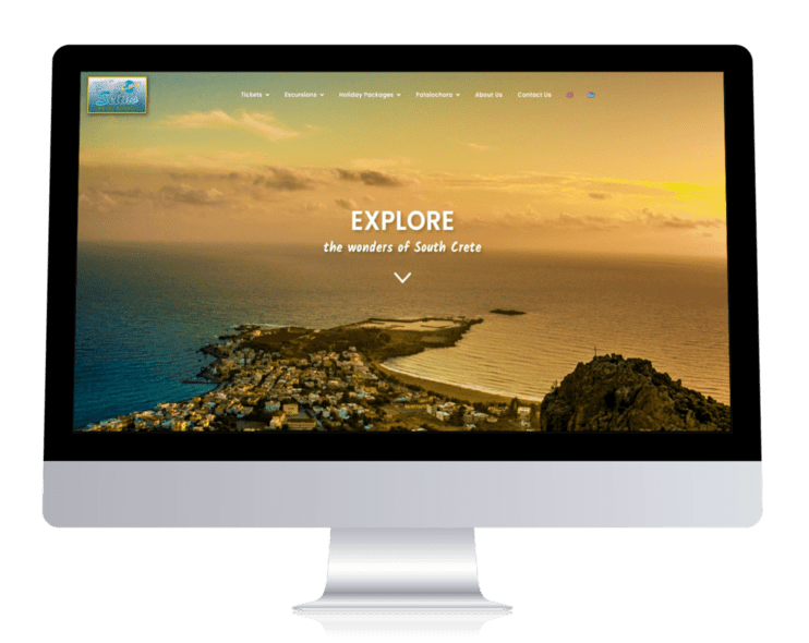 ennovate digital agency - selino travel website pc laptop screenshot 001