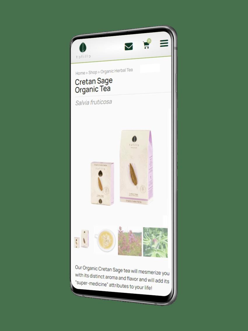 ennovate digital agency - tofillo website mobile screenshot 01