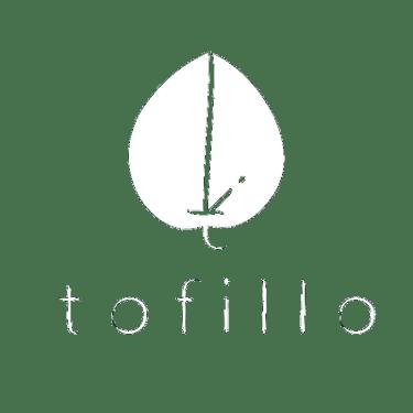 tofillo logo white transparent