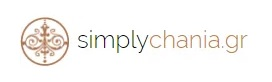 simply chania website logo small white